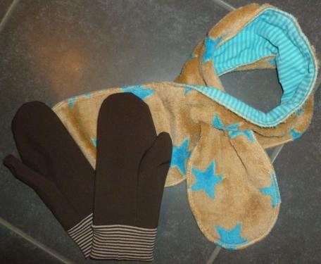 Schal Handschuhe