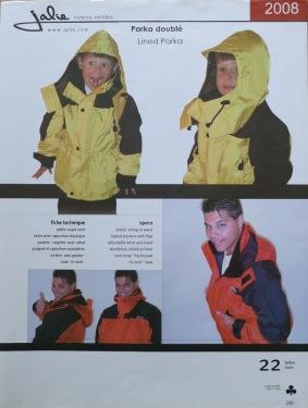 Regenjacke von Jalie J2008 1